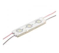 Світлодіодний модуль 12 V білий холодний smd5730 3led 1.5 W IP65