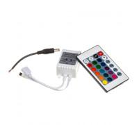 LED контролер світлодіодний RGB 12А-144Вт (IR 24 кнопки)