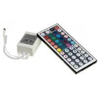 LED контроллер светодиодный RGB 12А-144Вт, (IR 44 кнопки)