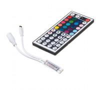 LED контролер mini світлодіодний RGB 6А-72Вт (IR 44 кнопки)