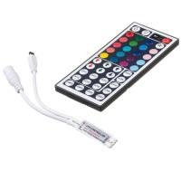 LED контроллер mini светодиодный RGB 6А-72Вт (IR 44 кнопки)