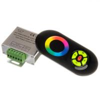 LED контроллер светодиодный черный RGB 18А-216Вт