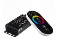 LED світлодіодний контролер чорний RGB 18А-216Вт, (6 кнопок)