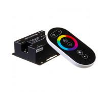 LED контроллер светодиодный RGB 18 А-12Вт (Radio 6 кнопок) черный