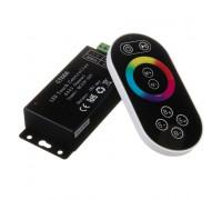LED світлодіодний контролер чорний RGB 18А-216Вт, (8 кнопок)