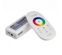 LED світлодіодний контролер білий RGB 18-216Вт, (8 кнопок)