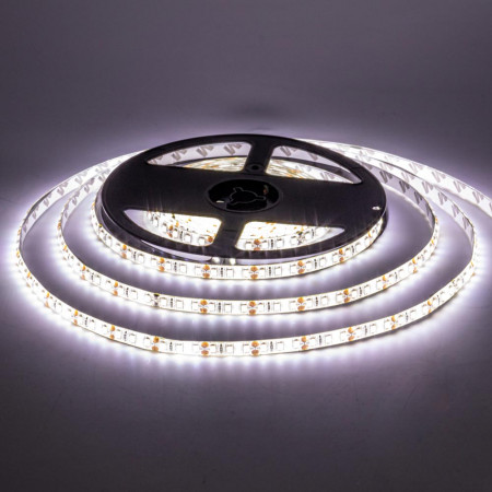 Світлодіодна стрічка біла 12V AVT smd2835 60LED/м IP20