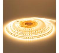 Світлодіодна стрічка тепла біла 12V AVT smd2835 120LED/м IP65