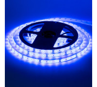 Світлодіодна стрічка синя 12V smd2835 60LED/м IP20