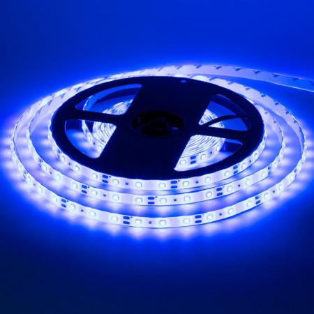 Герметична світлодіодна стрічка синя 12V smd2835 60LED/м IP65