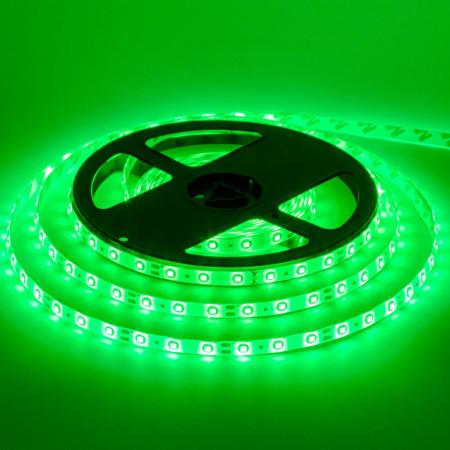 Светодиодная лента зеленая 12V smd2835 60LED/м IP20