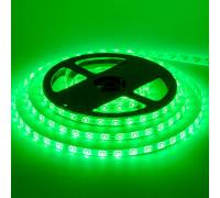 Світлодіодна стрічка зелена 12V smd2835 60LED/м IP65