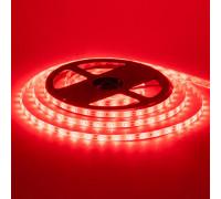 Світлодіодна стрічка червона 12V smd2835 60LED/м IP20