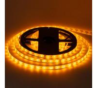 Світлодіодна стрічка жовта 12V smd2835 60LED/м IP65