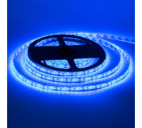 Світлодіодна стрічка синя 12V smd2835 120LED/м IP20