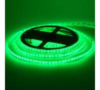Светодиодная лента зеленая 12V smd2835 120LED/м IP20