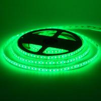 Светодиодная лента зеленая 12V smd2835 120LED/м IP65