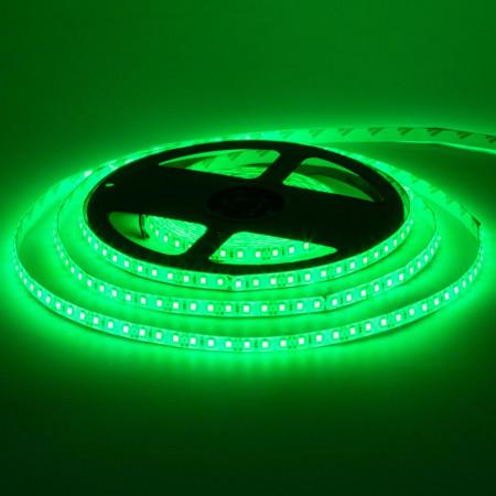 Світлодіодна стрічка зелена 12V smd2835 120LED/м IP65