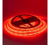 Светодиодная лента влагозащищенная красная 12V smd2835 120LED/м IP65