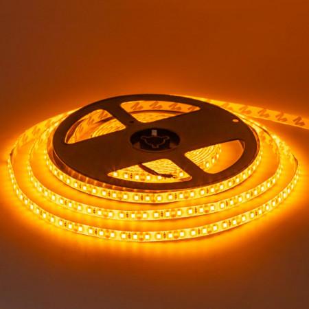 Світлодіодна стрічка жовта 12V smd2835 120LED/м IP20