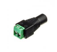 Коннектор для світлодіодної стрічки 12V mini jack 5,5 mm мама