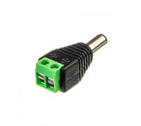 Коннектор для світлодіодної стрічки 12V mini jack 5,5 mm тато