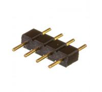 Коннектор для світлодіодної стрічки RGB 12V 10mm тато/4 pin