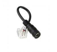 Коннектор для світлодіодної стрічки 12V 10mm мама провід/затискач