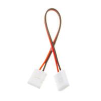 Коннектор для cветодиодной ленты 12V 10mm провод/2 зажима