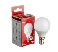 LED лампа Е14 G45 5W тепла біла 3000К SIVIO