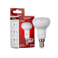 LED лампа Е14 R50 7W нейтральная белая 4100К SIVIO