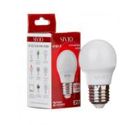 LED лампа Е27 G45 10W нейтральная белая 4100К SIVIO