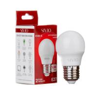 Светодиодная лампа G45 SIVIO нейтральная белая 10W E27 4100K