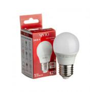 LED лампа Е27 G45 5W тепла біла 3000К SIVIO