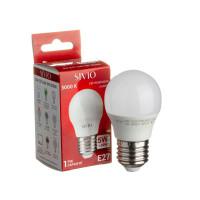 Светодиодная лампа G45 SIVIO теплая белая 5W E27 3000K