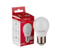 LED лампа Е27 G45 5W нейтральна біла 4100К SIVIO