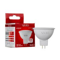 Светодиодная лампа MR16 SIVIO нейтральная белая 6W GU5.3 4100K