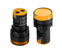 Індикаторна Лампа світлодіодна жовта AD16-22DS-24В