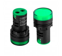 Светодиодный индикатор AD16-22DS, 220VAC, зеленый