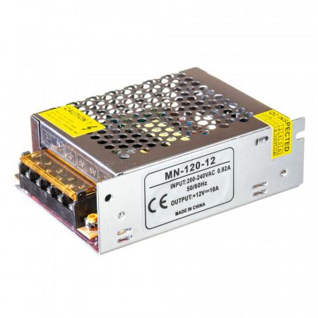 Led блок живлення 12V 10A 120Вт IP20 MN