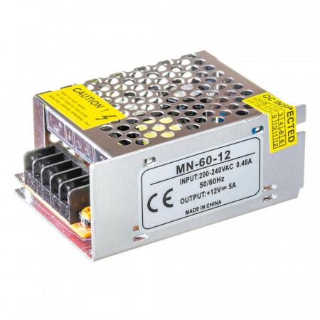 Led блок питания 12V 5A 60Вт IP20 MN