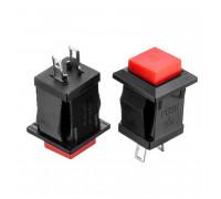 Натискна Кнопка червона 10.9 мм 3А 250В без фіксації OFF-(ON) DS-430 SPST 2pin Daier