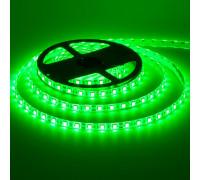 Светодиодная лента зеленая 12V smd5050 60LED/м IP65