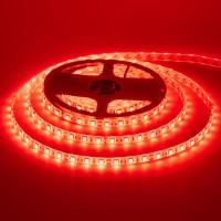 Светодиодная лента красная 12V smd5050 60LED/м IP20