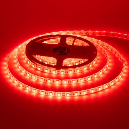 Світлодіодна стрічка червона 12V smd5050 60LED/м IP20