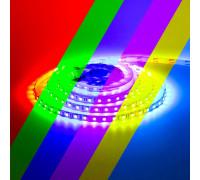 Світлодіодна стрічка 12V RGB smd5050 60LED/м IP65
