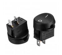 Кнопка переключатель черная 10А (2pin) ON-OFF KCD1-101-11