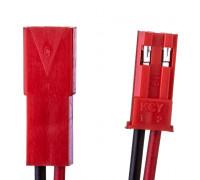 Комплект коннекторів для світлодіодної стрічки тато мама 12V 2pin червоний