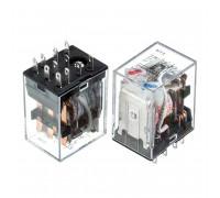 Реле HH53P, 24VDC, 7A (контакти-3С)