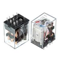 Реле HH53P, 24VDC, 7A (контакты-3С)
